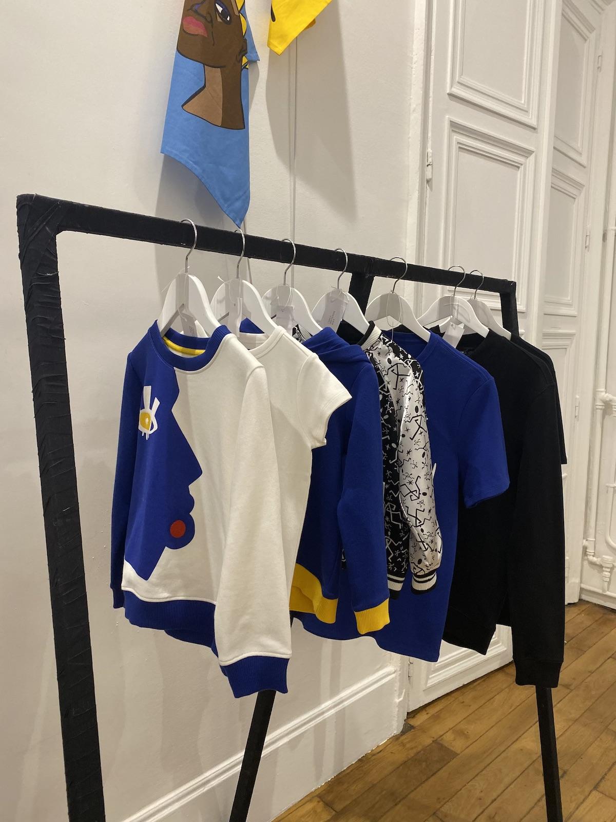 collaboration déco 2020 vêtements motifs pop Jain X Monoprix