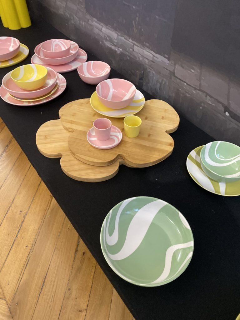 monoprix déco 2020 collaboration hello simone art de la table planche à découper - clematc