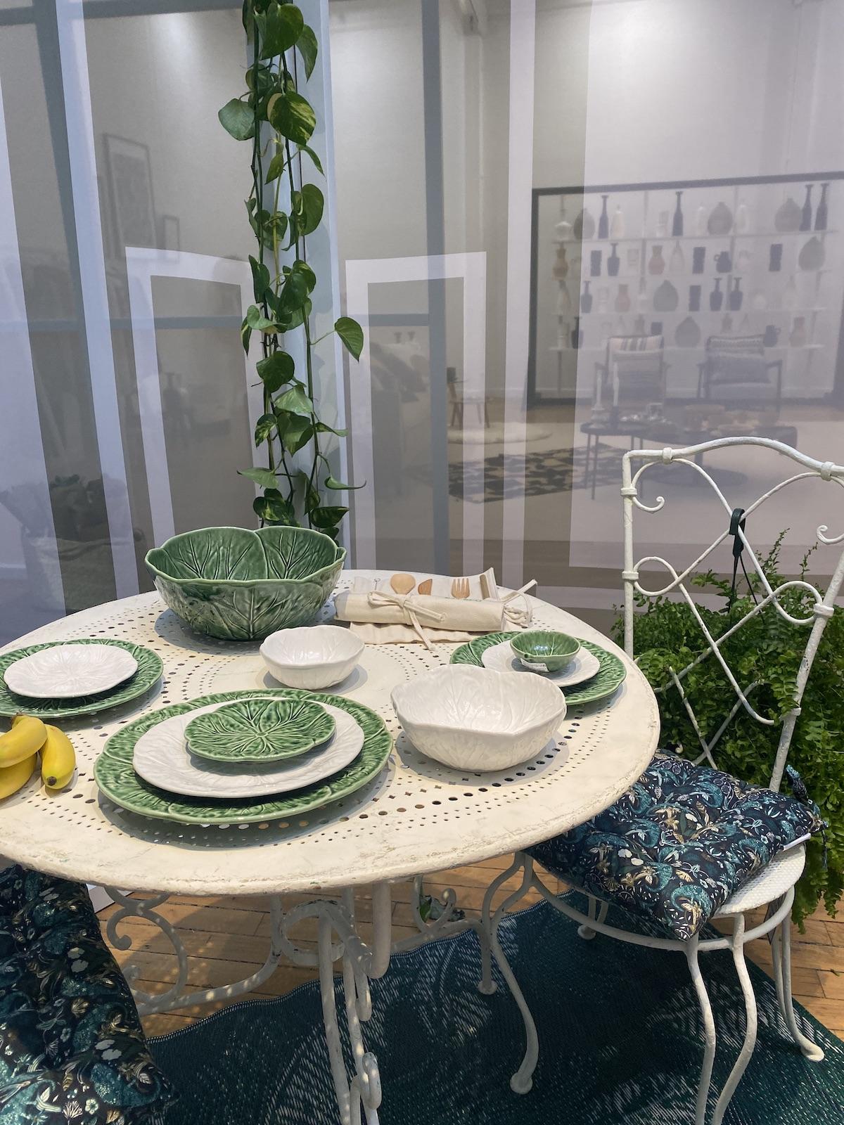 monorpix déco 2020 vaisselle choux table extérieure - blog deco - clematc
