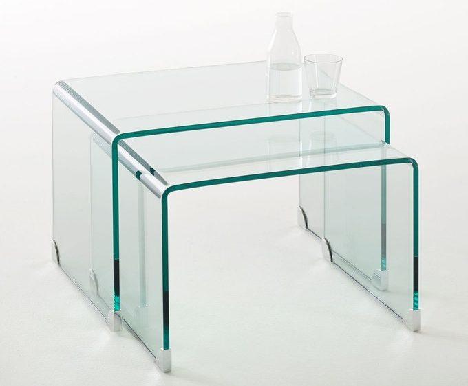 tables basse gigogne verre joan blog design décoratrice intérieure - clem around the corner
