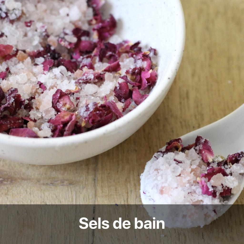 tutoriel recette écologique green sel de bain rose cosmétique