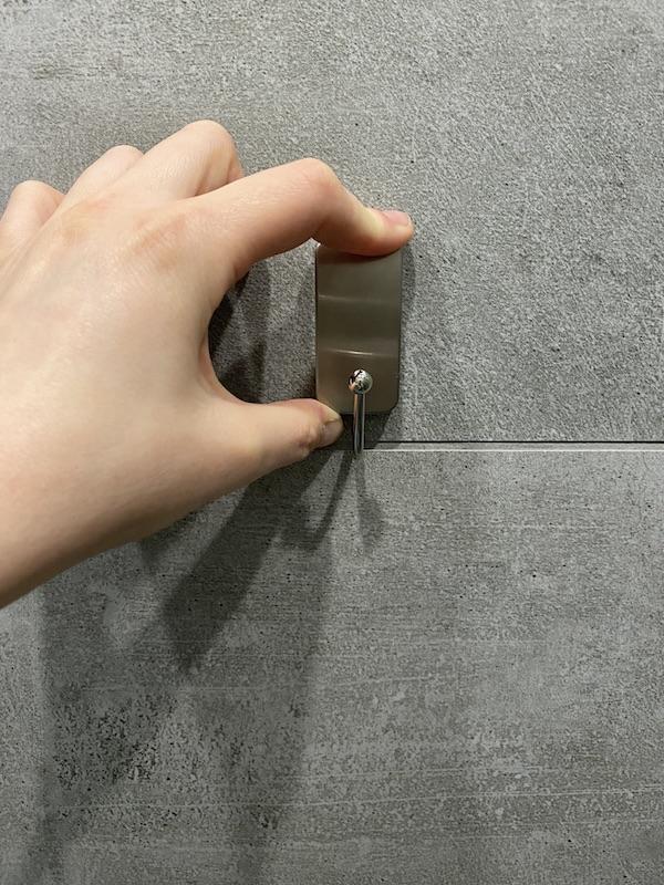 comment installer des crochets dans sa salle de bain sans percer autocollant test avis