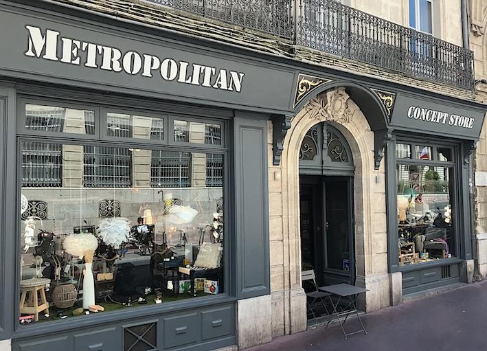 metropolitan concept store Montpellier boutique decoration design idée cadeau