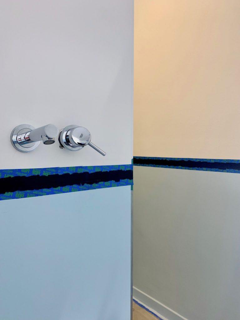 test ruban adhésif masquage peintre bleu salle de bain scotch blue avis