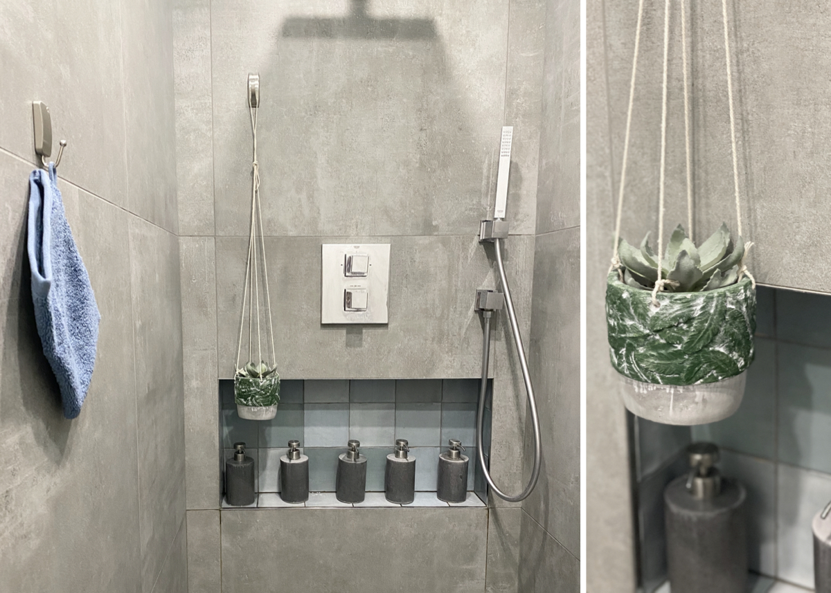 tutoriel installer des crochets de salle de bain 3m autocollant carrelage