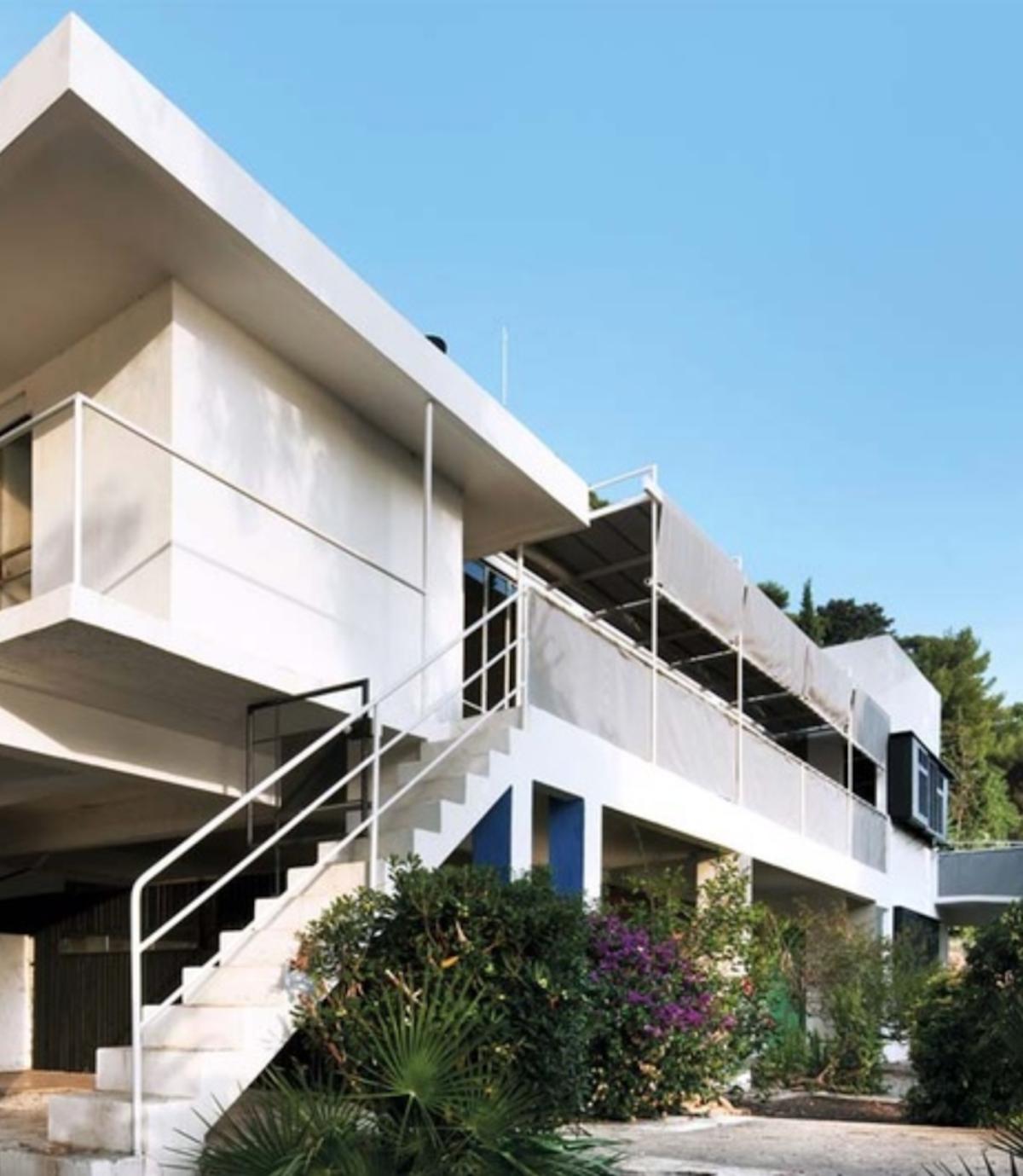villa E-1027 eileen gray architecture maison design - blog déco - clemaroundthecorner