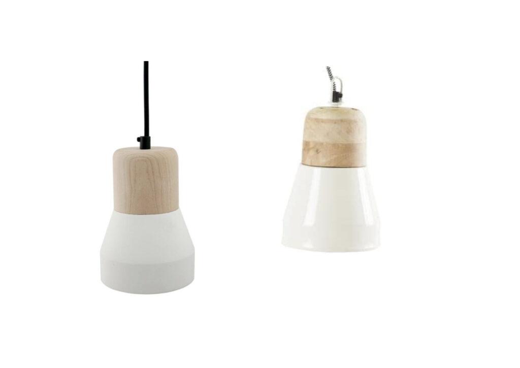 suspension luminaire moins cher minimaliste cuisine bois blanc