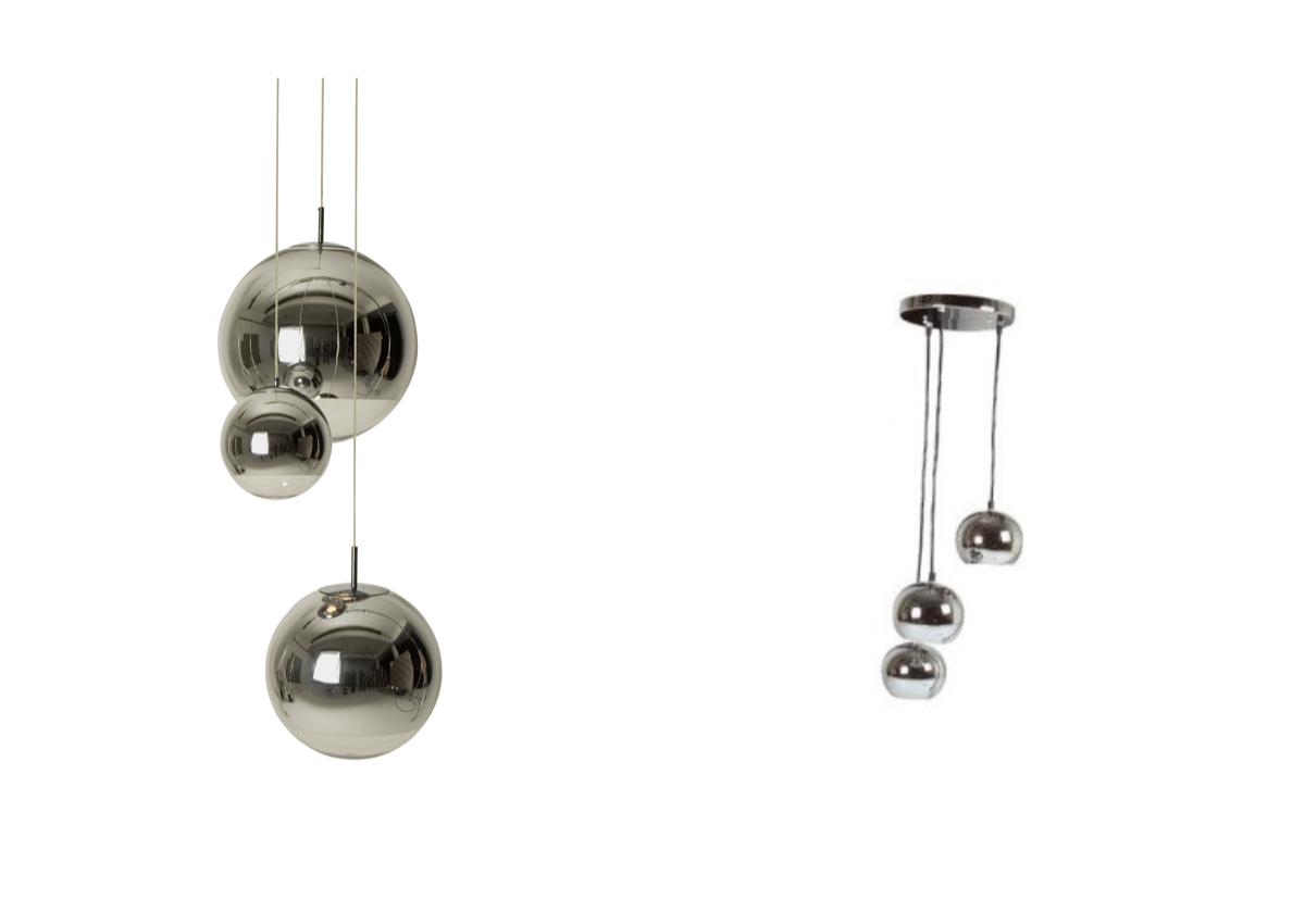 suspension lampe tom dixon pas cher metal boule 3