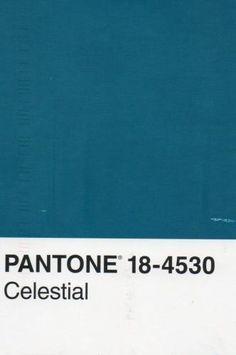 pantone bleu canard code celestial réference teinte