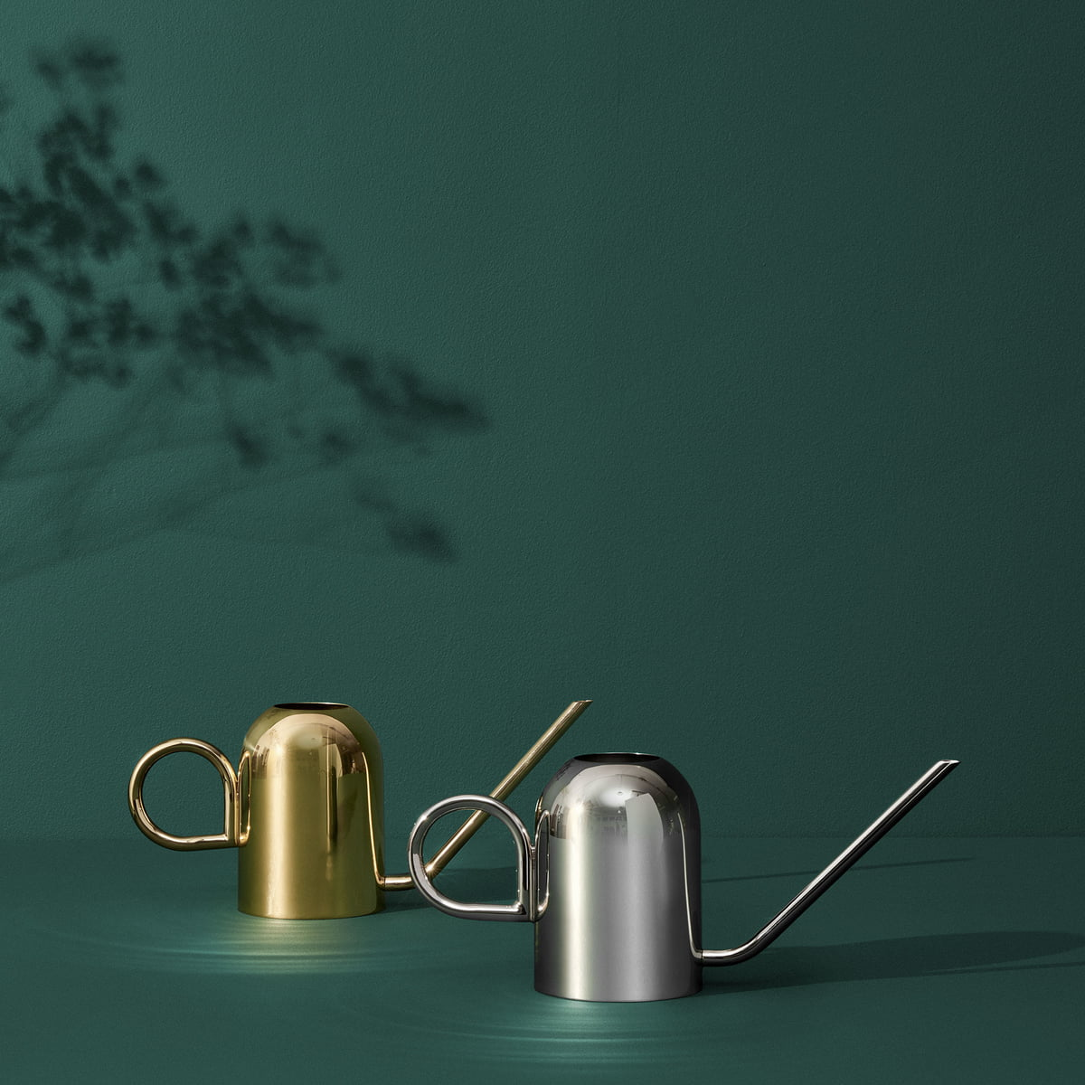AYTM Vivero arrosoir ergonomique scandinave or déco table décoratif doré argent métal zinc