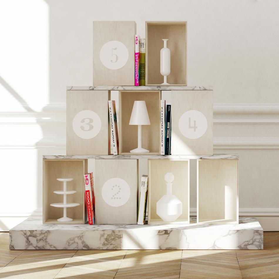 designer box idée cadeau fan design pendaison crémaillère original déménagement
