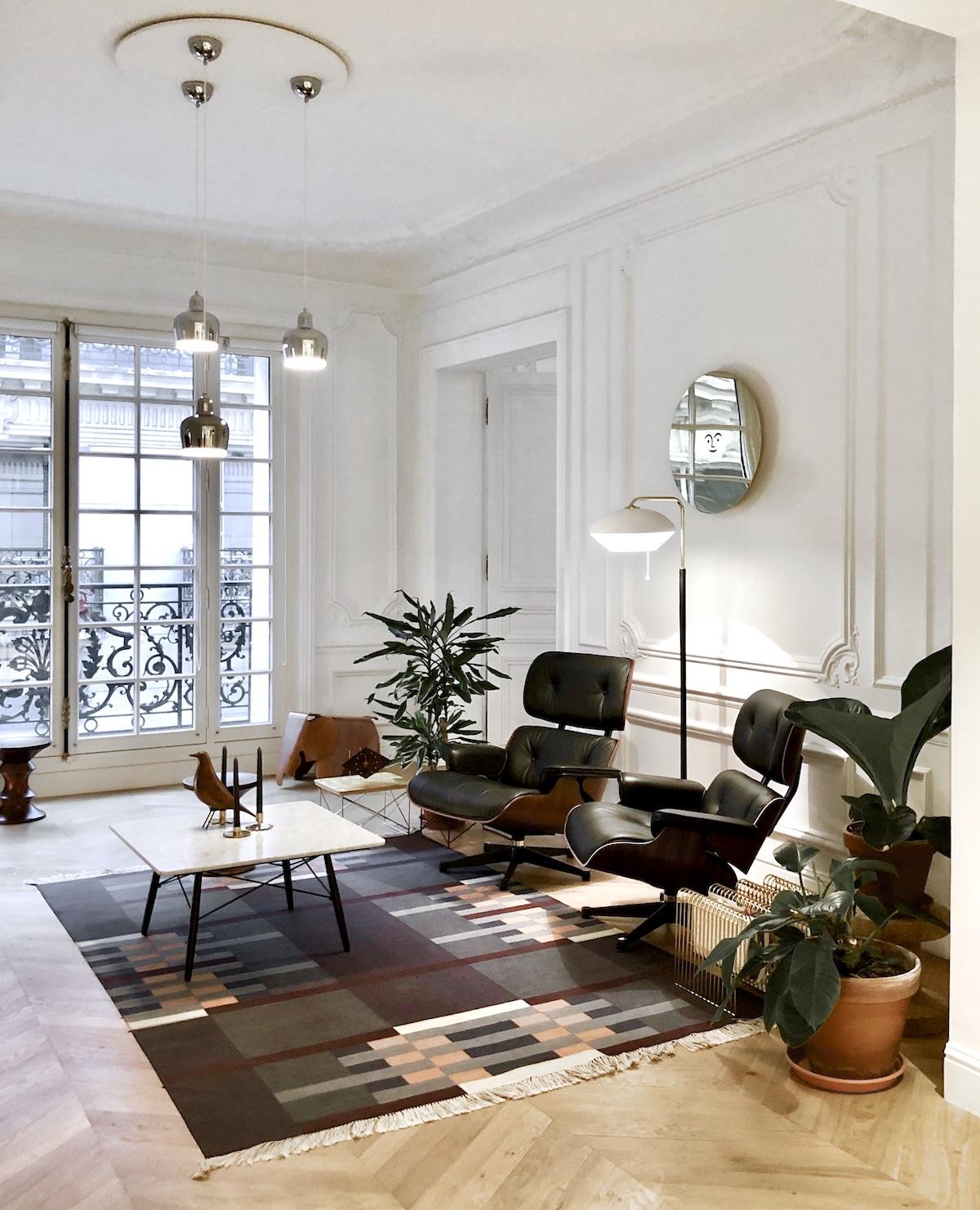 différence entre rétro et vintage - photo credit clem around the corner blog décoratrice interieur paris