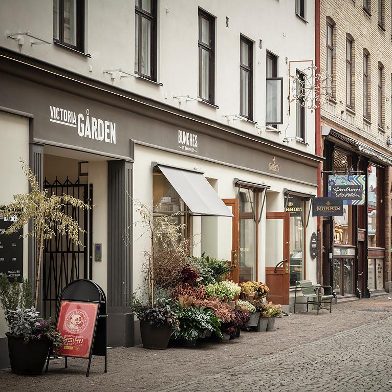 galerie marchande commerce artisans suède boutique déco Göteborg