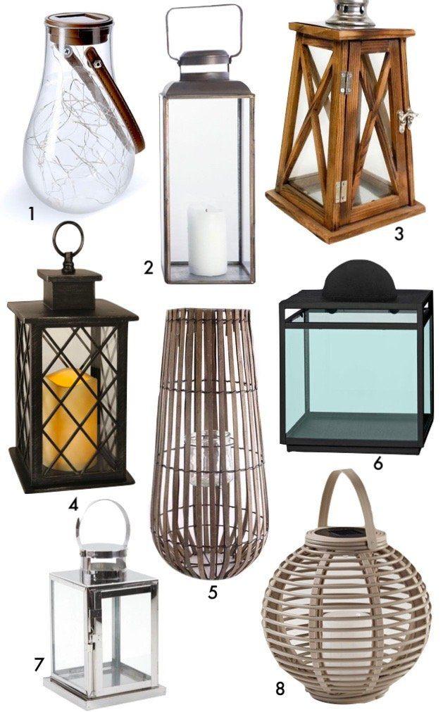 astuces conseils comment aménager sa terrasse lanterne éclairage retro vintage jardin