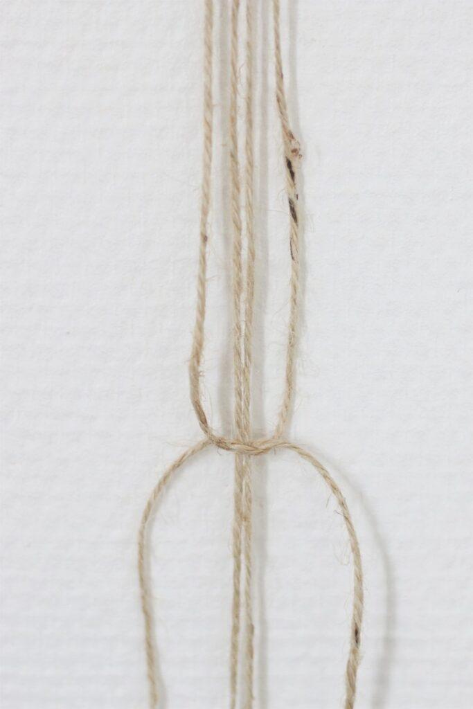 comment fabriquer soi-même pot suspendu vase pour fleur en corde