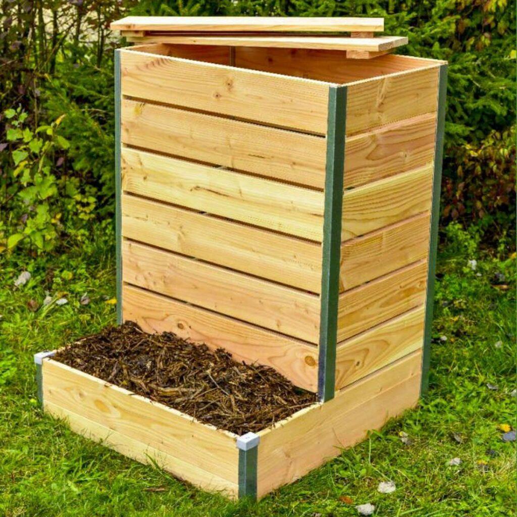composteur en bois nature et découverte - blog déco- clematc