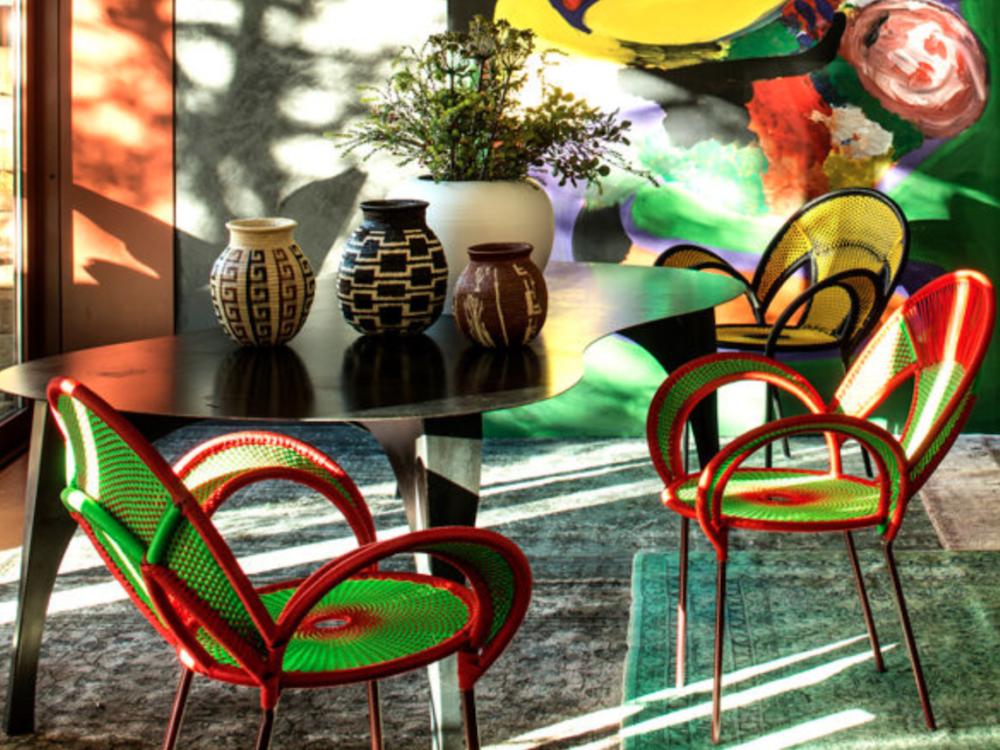 décoration africaine coloré motif wax - blog - clemaroundthecorner