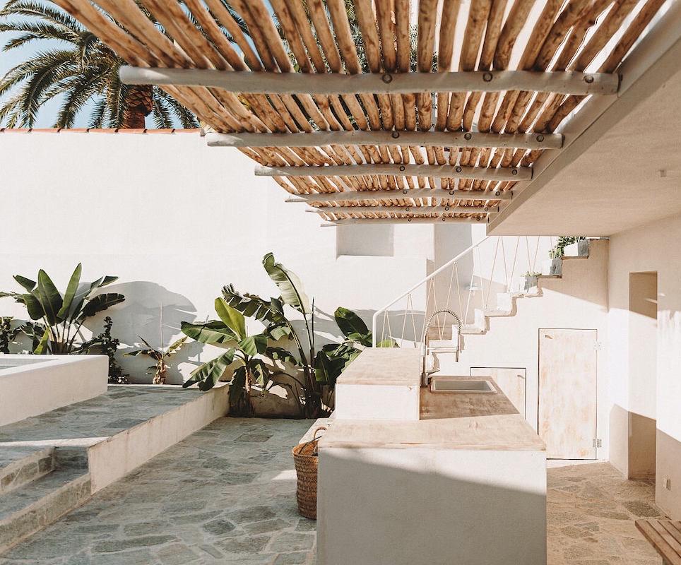 maison de vacances à Ajaccio Corse plage cuisine extérieur terrasse