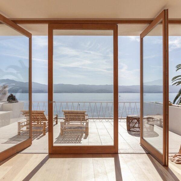 maison de vacances à Ajaccio terrasse chambre vue sur mer