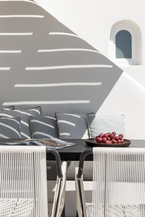 mobilier meuble jardin métal corde scoubidou blanc - blog décoratrice intérieur - clem around the corner