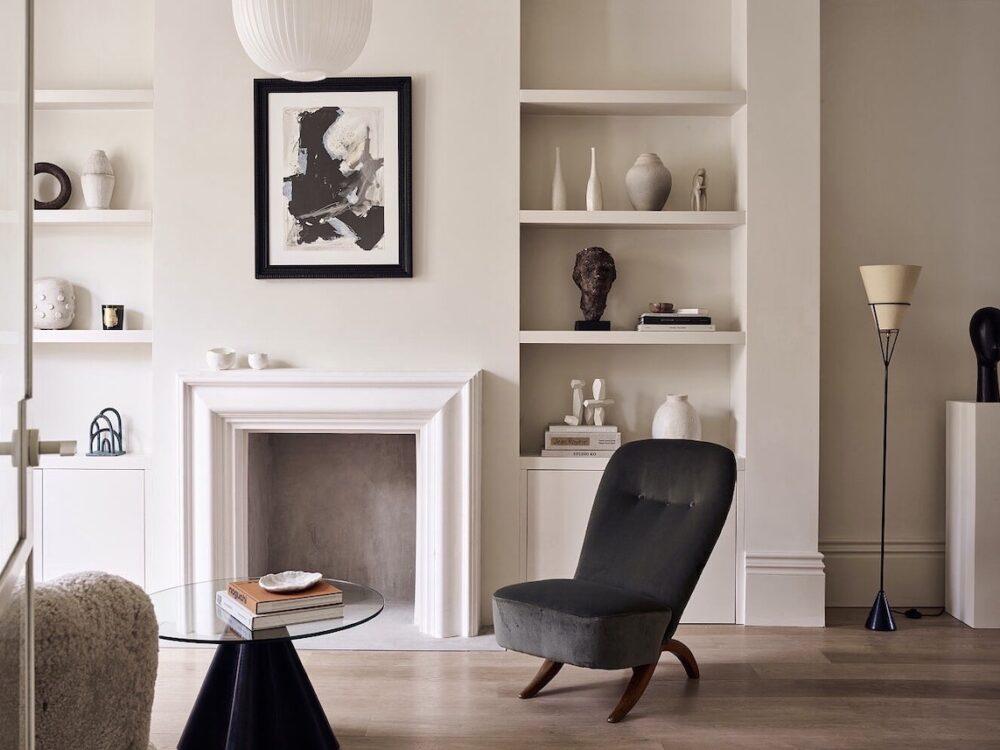 salon arty habitat de la capitale anglaise - blog déco - clem around the corner