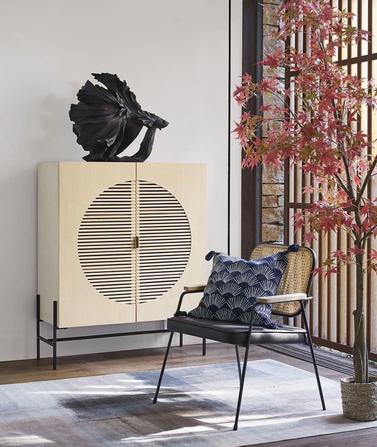 salon déco style japonais tendance - blog décoration - clem around the corner