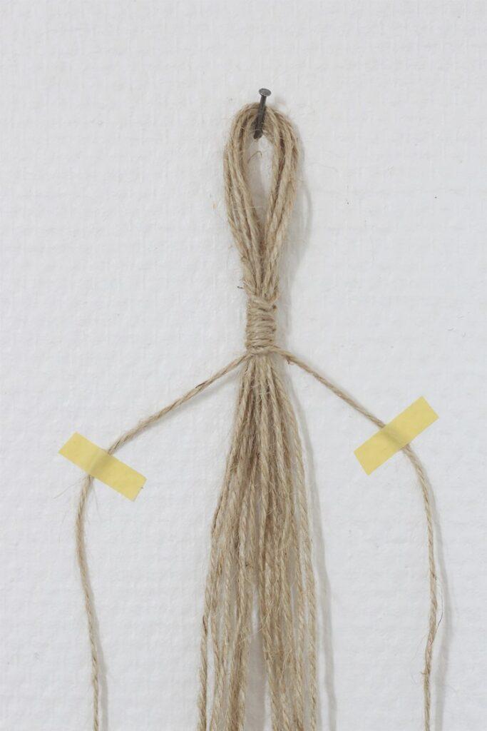 technique tissage macramé corde idée déco création blog brin nature