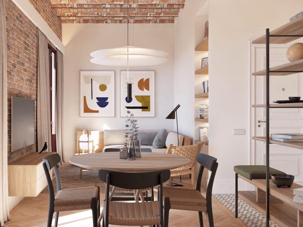 comment agencer aménager appartement senior à Barcelone décoration blog