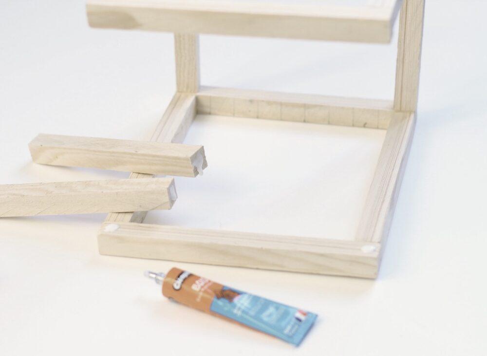 comment fabriquer un cadeau de pendaison crémaillère fait maison en bois facile