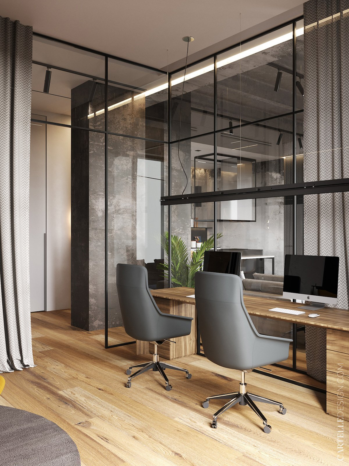 home office loft blog décoration intérieur - clem around the corner