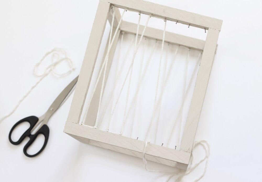 idée décoration avec chute de bois tasseau en pin corde ficelle