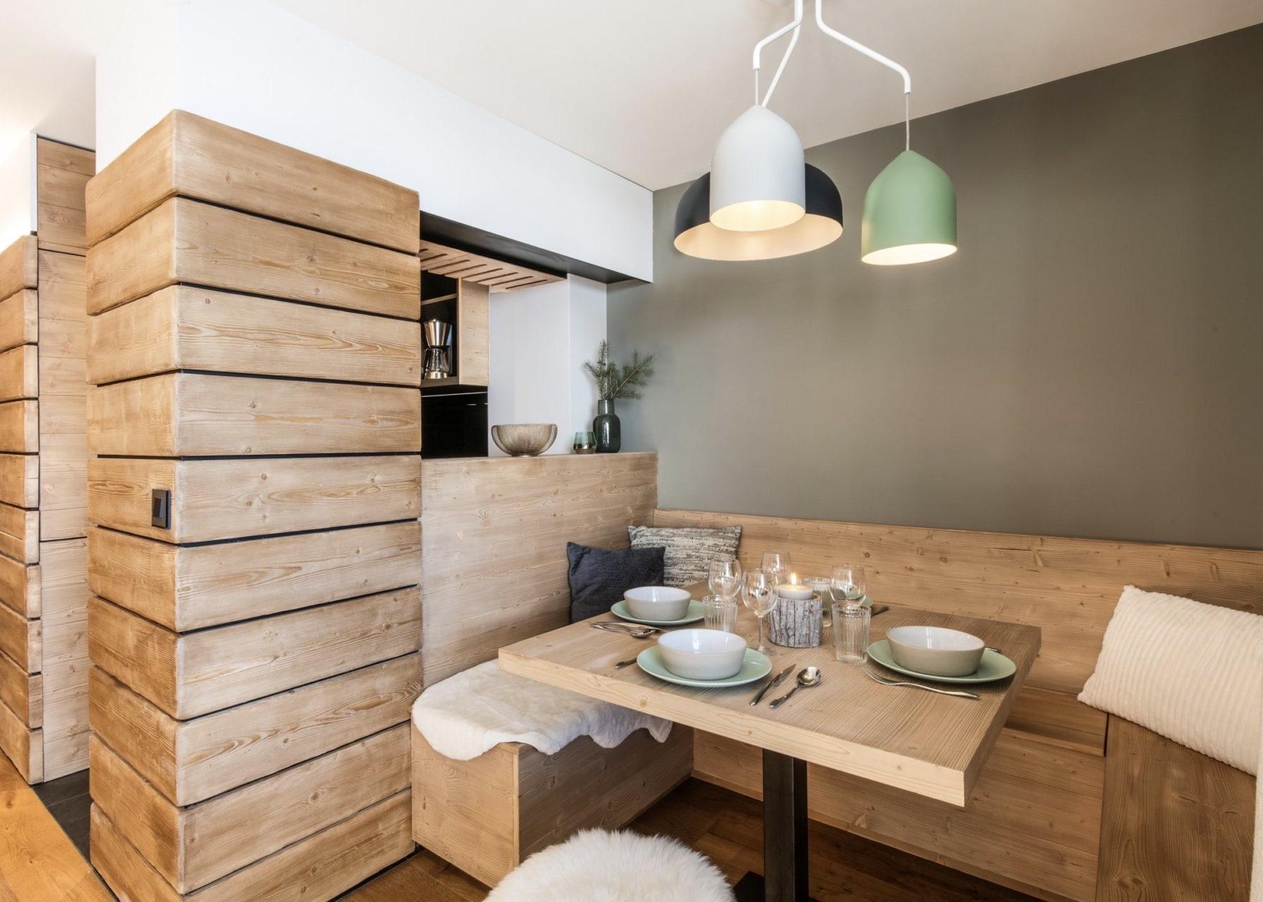petit appartement à Val d'Isère ski bas piste 5 personnes famille aménagement - blog déco - clem around the corner