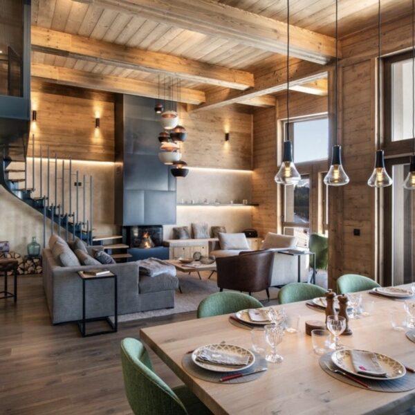rénovation d'un appartement de montagne décoration chalet luxe Les Arcs - blog déco - clem around the corner