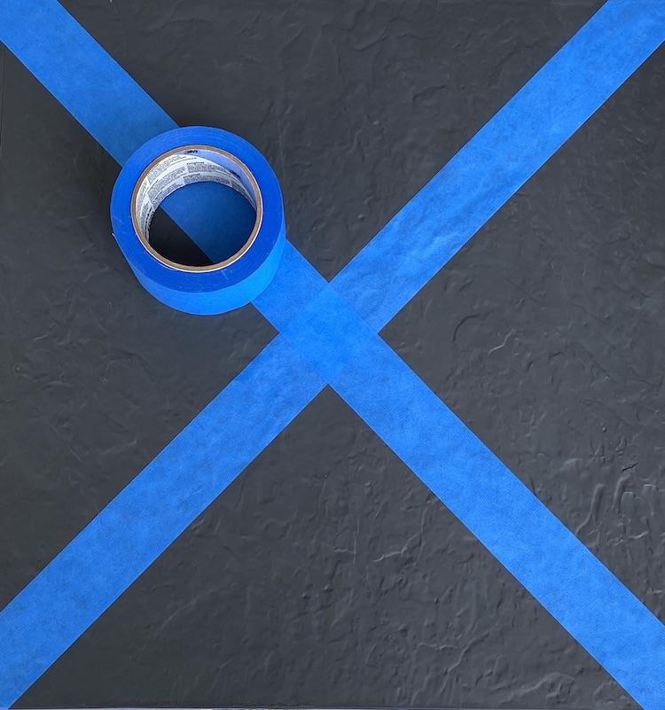 ruban adhésif masquage bleu bricolage peinture avis