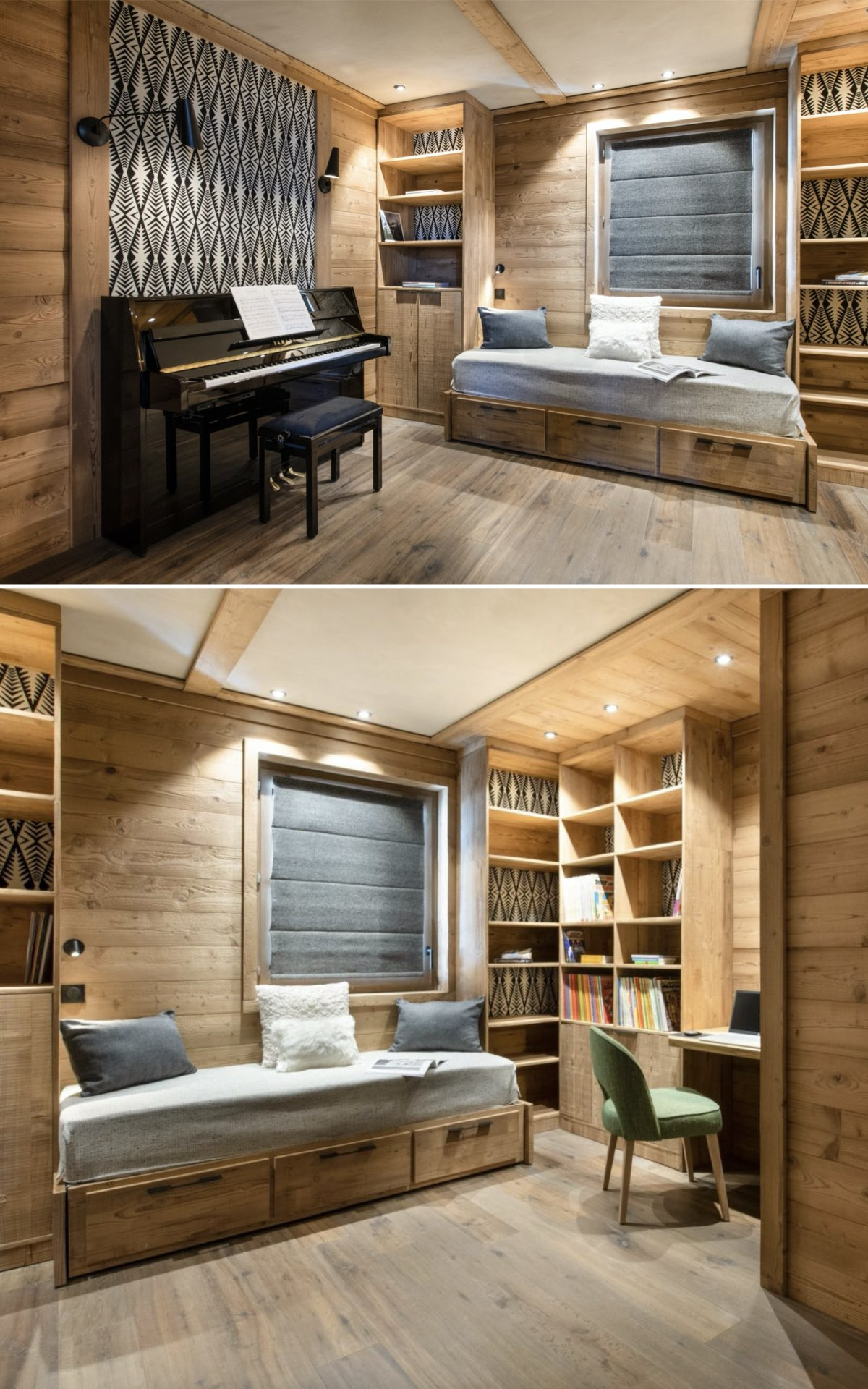 style chalet luxe 4 chambres Arcs Alpes - blog déco - clem around the corner