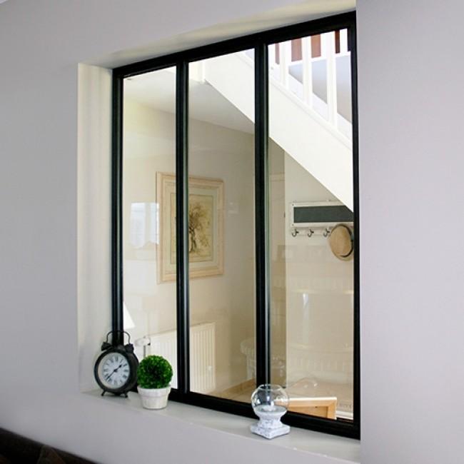 ajouter verrière séparation entrée maison couloir cuisine séjour facile