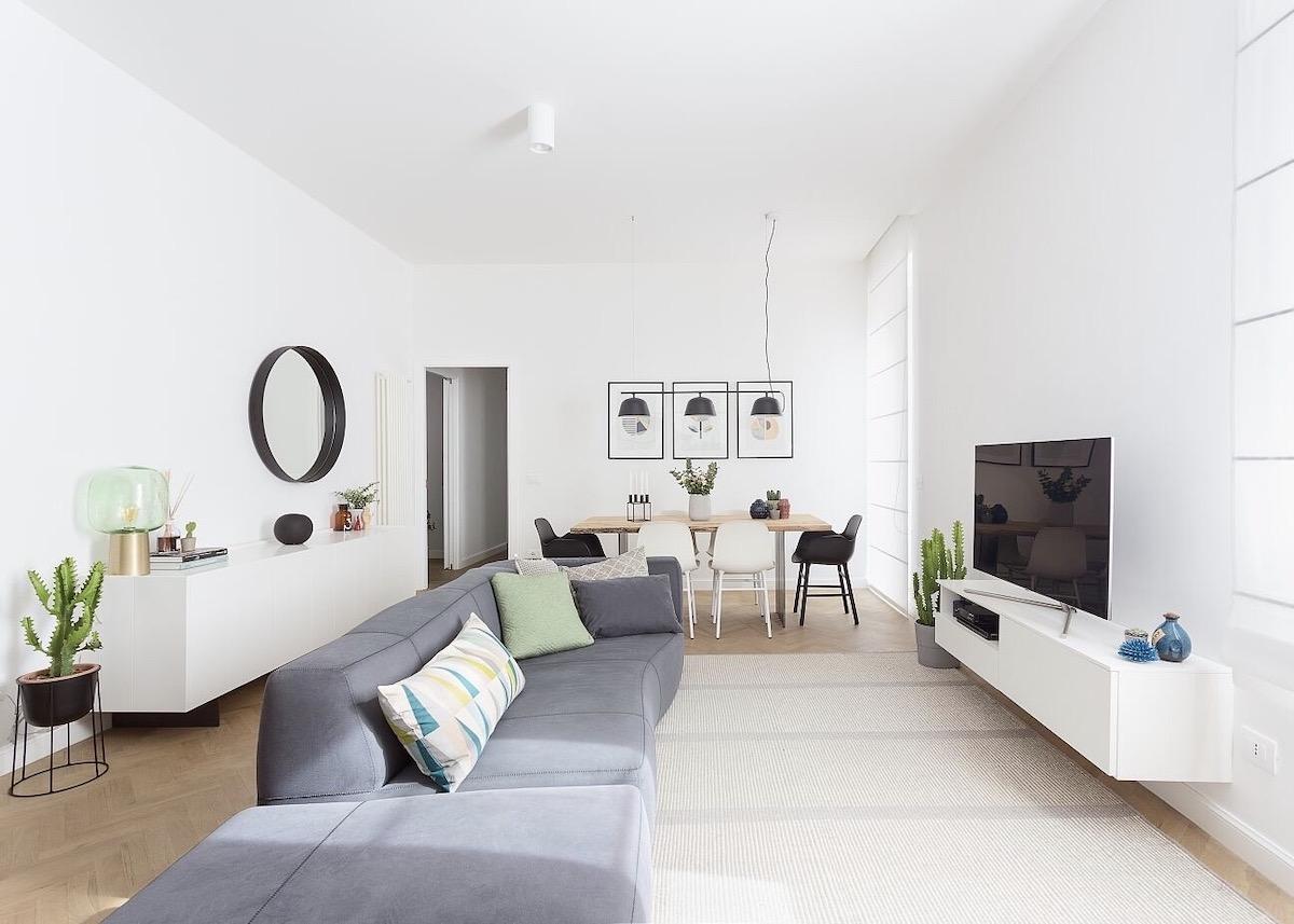 appartement 3 pièces Frascati location Italie - blog déco - clem around the corner