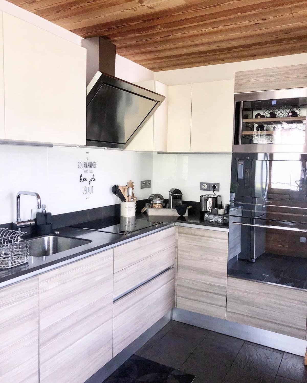 cuisine design revêtement bois tendance Déco by Paolina