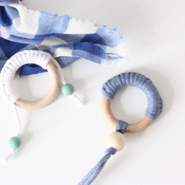 fabriquer hochet bébé dentition Montessori blog création déco diy clem around the corner