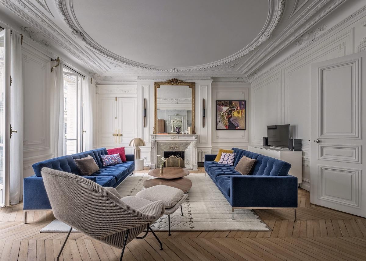 parisian style décoration intérieur aménagement appartement - blog clem around the corner