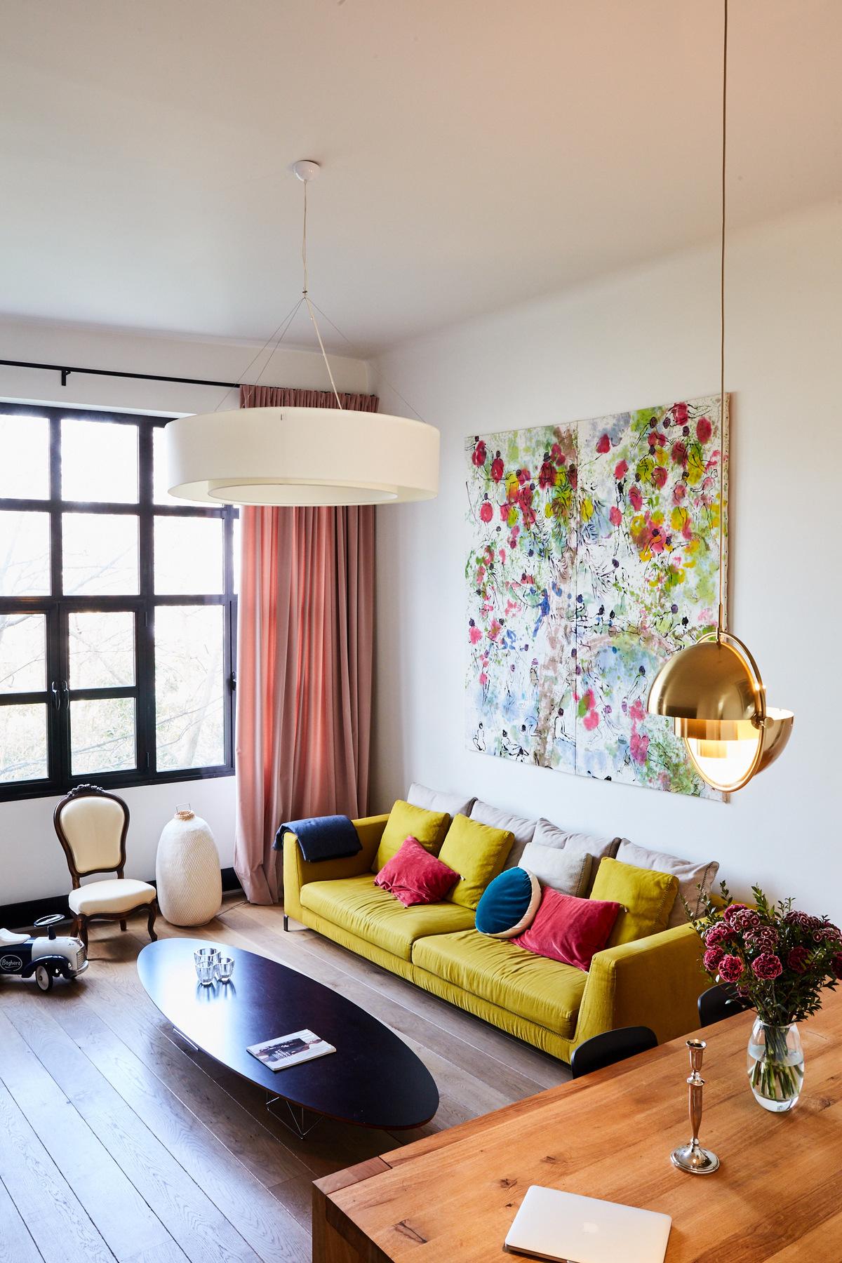 salon coloré déco années 30 - blog design - clem around the corner