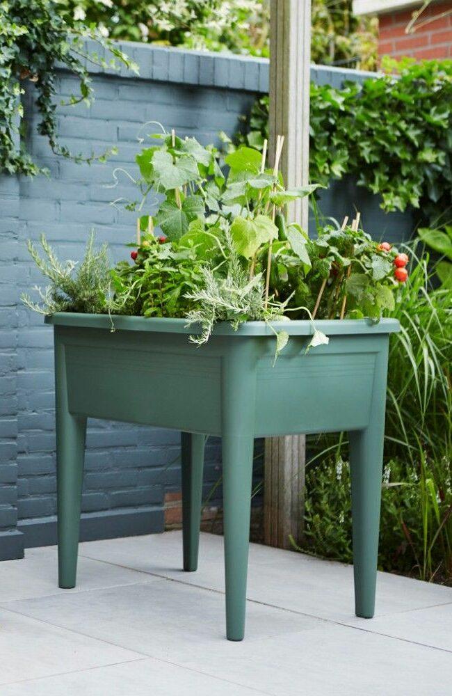 avoir un potager bio en ville jardinière sur pied - blog déco - clem around the corner
