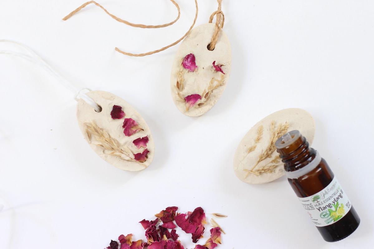 bienfait diffuseur plâtre huile essentielle diy ylang ylang