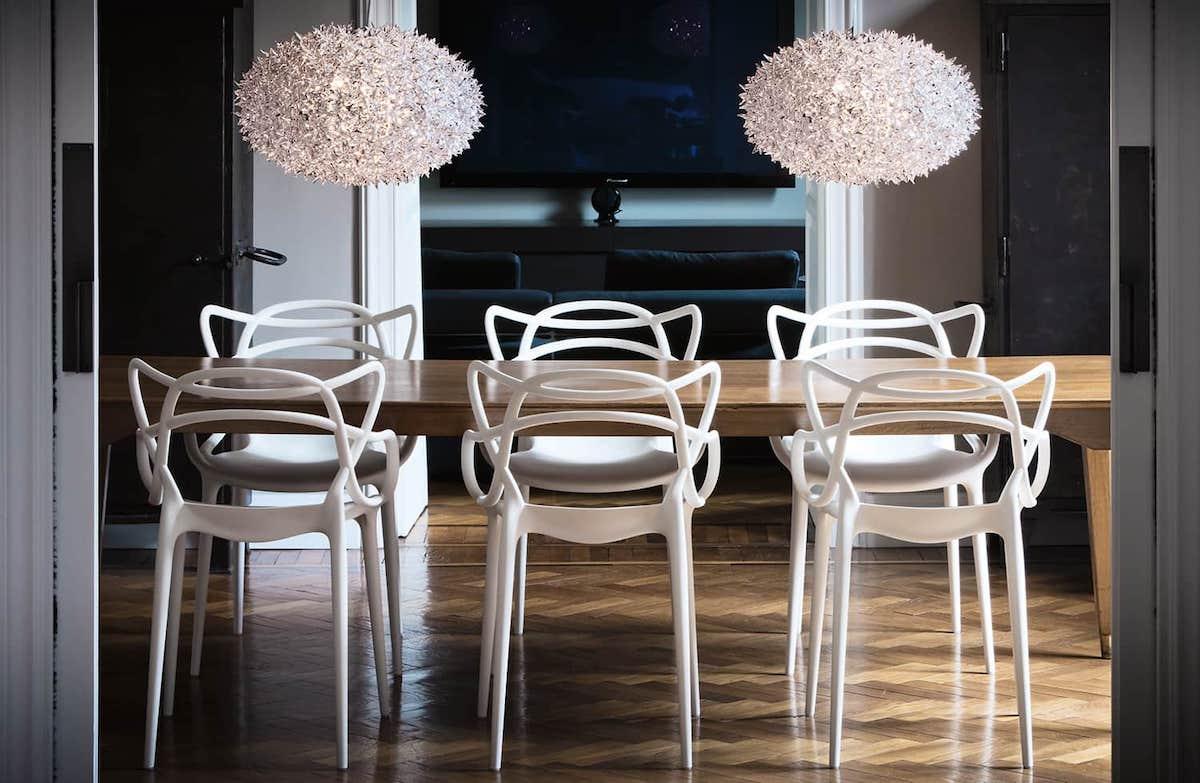 chaise masters kartell philippe starck salle à manger - blog déco - clem around the corner