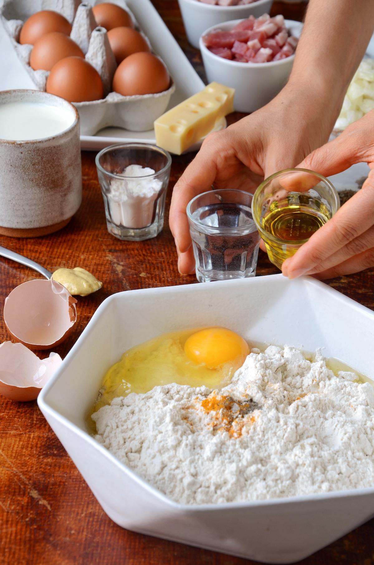 comment faire pâte brisée recette maison - blog clem around the corner