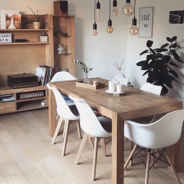 décoration tendance scandinave chaise eames - blog déco - clematc