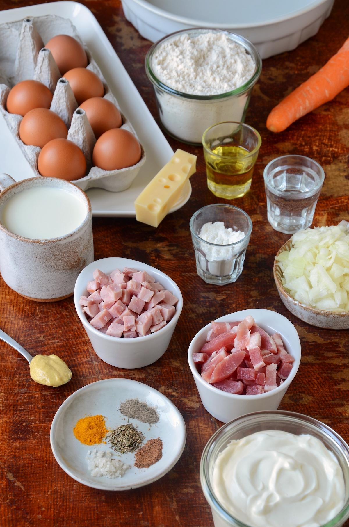 ingrédient quiche épaisse 6 8 personnes recette brunch sain équilibre