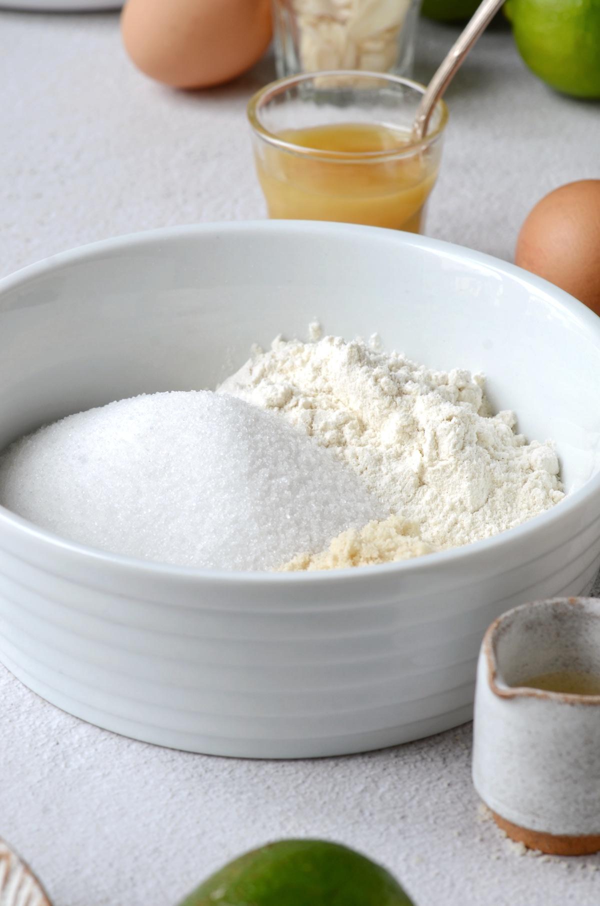 ingrédient sec pour gâteau gourmand - blog maison - clem around the corner