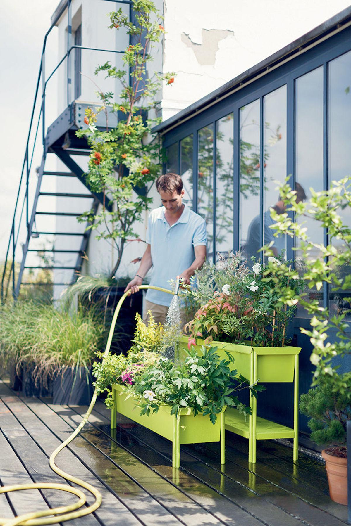 jardinière terrazza verte madeindesign potager - blog déco - clematc