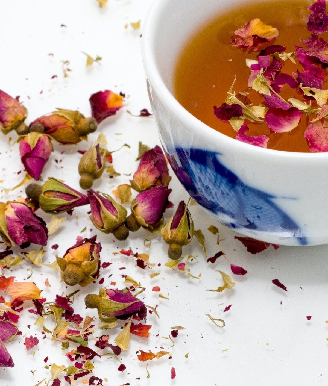 recette infusion chaude fleurs séchées bienfaits pour le corps